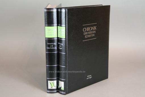 Chronik Der Heiligen Schriften in 2 Bänden (komplett), Silber-Kopfschnitt, 2011