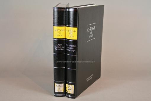 Chronik der Medizin, in 2 Bänden (komplett), Silber-Kopfschnitt, 2010