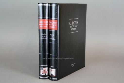 Chronik Macht und Religion in 2 Bänden (komplett), Silber-Kopfschnitt, 2009