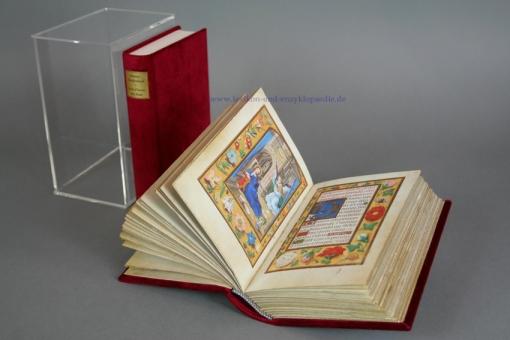 Das Blumen-Stundenbuch von Simon Bening (Clm 23637), Faksimile Verlag Luzern, limitiert