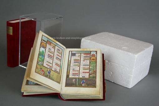Das Blumen-Stundenbuch von Simon Bening (Clm 23637), Faksimile (Vorzugsausgabe) | Neu & OVP