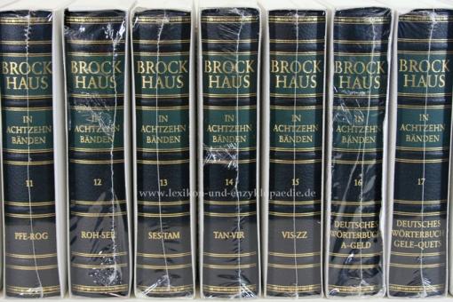 Der Brockhaus in Achtzehn (18) Bänden (A-Z & Deutsches Wörterbuch) | Neu & OVP