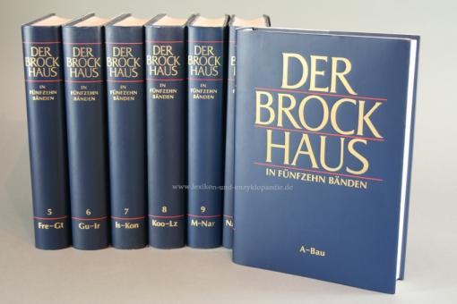 Der Brockhaus in Fünfzehn (15) Bänden, Bertelsmann