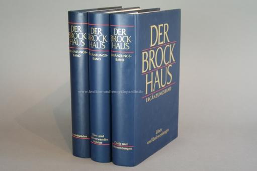 Der Brockhaus in Fünfzehn (15) Bänden, Ergänzungen