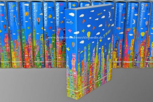 Der Brockhaus in Fünfzehn (15) Bänden, James Rizzi Künstler-Edition, limitiert