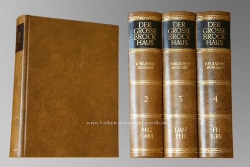 Der Große Brockhaus 18. Auflage, Einzel-Band, Ganzleder / Echt-Leder