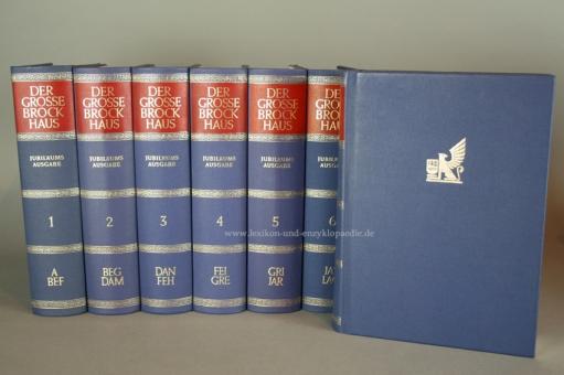 Der Große Brockhaus 18. Auflage, 14 Bände (incl. Karten & Ergänzungen) Jubiläums-Ausgabe