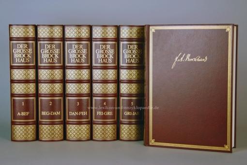 Der Große Brockhaus 18. Auflage, 20 Bände (Karten, Ergänzungen, Wahrig) Traditionsausgabe