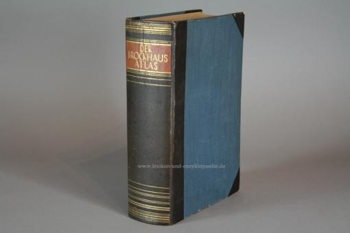 Der Brockhaus Atlas, Die Welt in Bild und Karte (auch Band 22 zur 15. Auflage), 1937, Prachtausgabe
