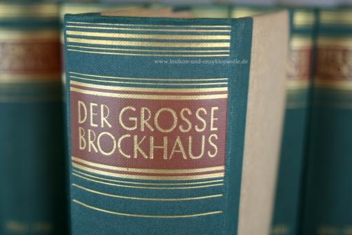 Der Große Brockhaus 15. Auflage, 21 Bände (incl. Ergänzungen), 1928-1935