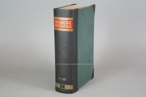 Der Große Brockhaus 15. Auflage, Band 1 (A-AST) 2. Ausgabe 1939, sehr selten