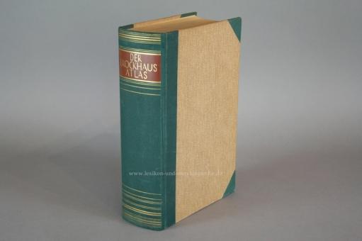 Der Brockhaus Atlas, Die Welt in Bild und Karte (auch Band 22 zur 15. Auflage), 1937