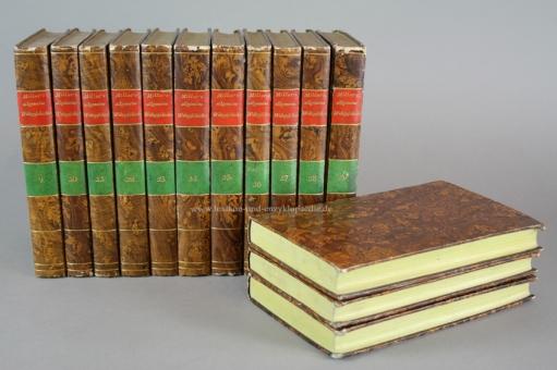 Herrn Abts Millot allgemeine Weltgeschichte alter, mittlerer und neuer Zeiten, 19 Bände, Stiche, 1813-1818 (I)