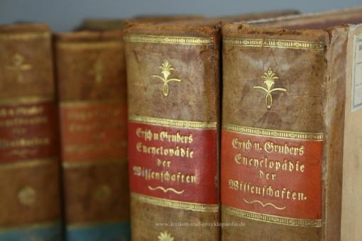 Ersch-Gruber, Allgemeine Encyclopädie der Wissenschaften und Künste, 12 Bände (ab Band 1), 1818