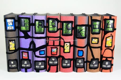 Hundertwasser Brockhaus Enzyklopädie (19. Auflage), 24 Bände, limitiert & handsigniert