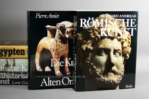 Herder,  Ars Antiqua - Große Epochen der Weltkunst, alle 25 Bände | Neuzustand, in Original-Schubern