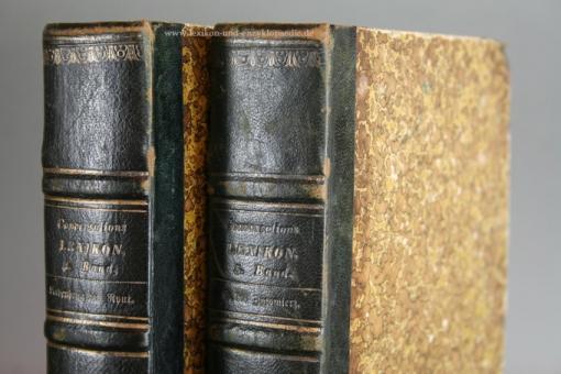 Herders Conversations-Lexikon 1. Auflage Erstausgabe, 5 Bände (A-Z), 1854-1857