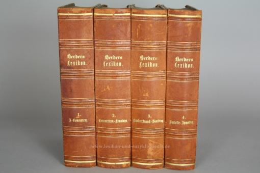 Herders Conversations-Lexikon 2. Auflage, 4 Bände (A-Z), 1876-1879 (III)