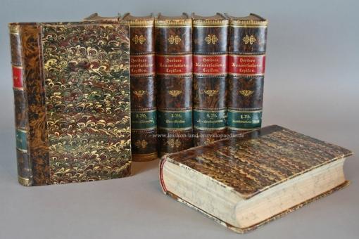 Herders Konversations-Lexikon 3. Auflage, 8 Bände (A-Z), Prachteinband, 1902-1907