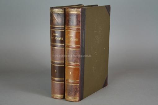 Ranke, Der Mensch (in 2 Bänden), Chromolithographien, 1900
