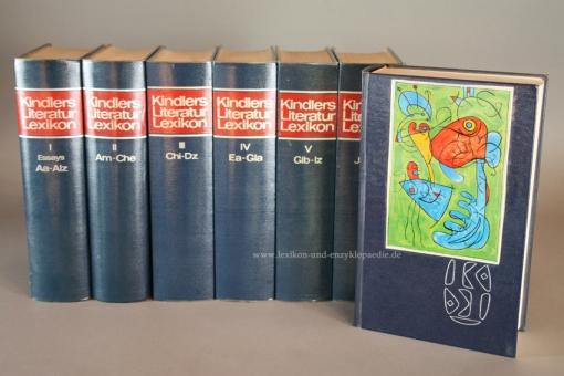 Kindlers Literatur Lexikon, einmalige zwölfbändige Sonderausgabe, 1970-1974