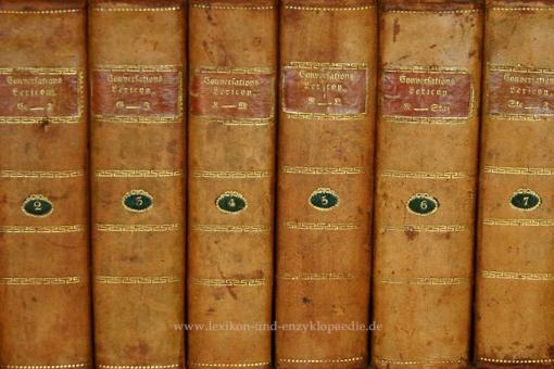 Macklot, Conversations-Lexicon oder encyclopädisches Handwörterbuch, 9 Bände, 1818
