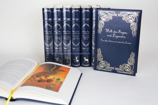 Märchen, Welt der Sagen und Legenden, Dritte (3.) Staffel, 13 Bände incl. Hörbuch