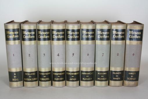 Meyers Lexikon 8. Auflage, Einzel-Band, Prachtausgabe