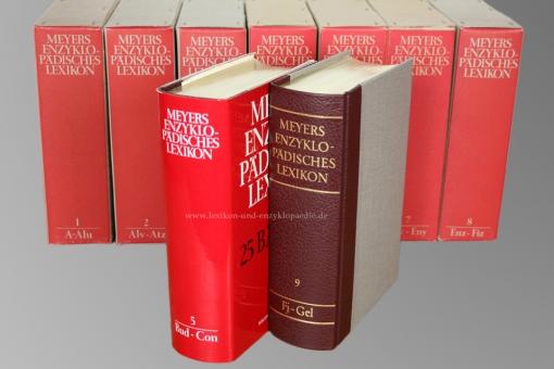 Meyers Enzyklopädisches Lexikon 9. Auflage, 25 Bände (A-Z) | Originalverpackt