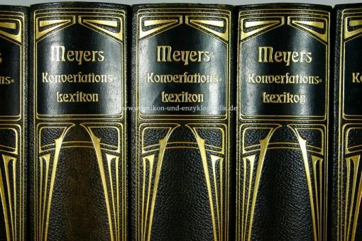 Meyers Großes Konversations-Lexikon 6. Auflage, Einzel-Band, Jugendstil