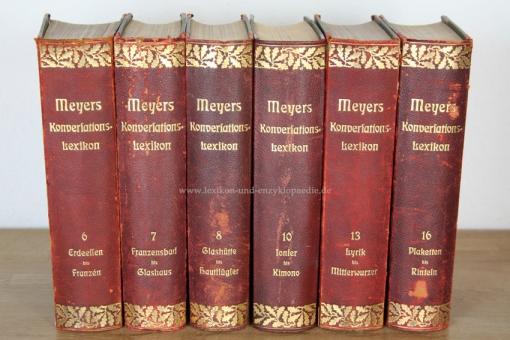 Meyers Großes Konversations-Lexikon 6. Auflage, Band 13 (Lyrik - Mitterwurzer), 1906, Eichenlaub 13