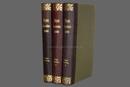 Meyers Großes Konversations-Lexikon 6. Auflage, Kriegsnachtrag, Eichenlaub