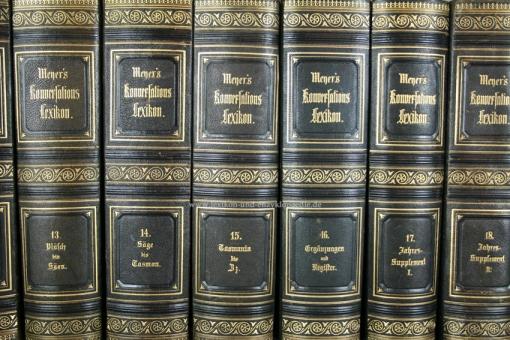 Meyers Konversations-Lexikon 3. Auflage, Einzel-Band (I)