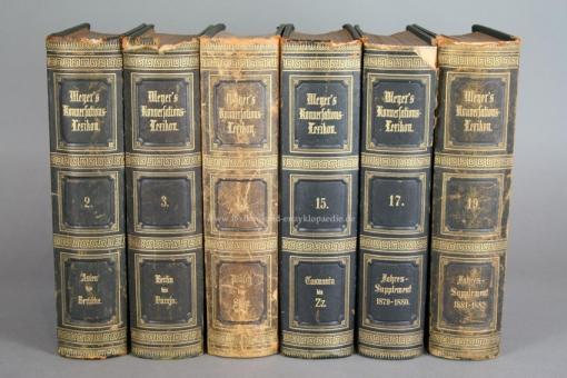 Meyers Konversations-Lexikon 3. Auflage, Band 17, Jahres-Supplement I 1879-1880 (II) 17
