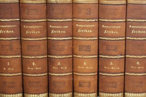 Meyers Neues Konversations-Lexikon 1. Auflage, 15 Bände (A-Z), 1857-1860 (II)