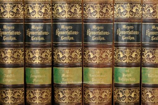 Meyers Konversations-Lexikon 5. Auflage, Einzel-Band, Dieckmann