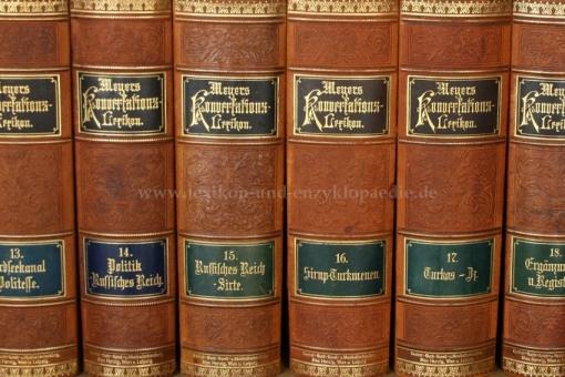 Meyers Konversations-Lexikon 5. Auflage, Einzel-Band, Max Herzig