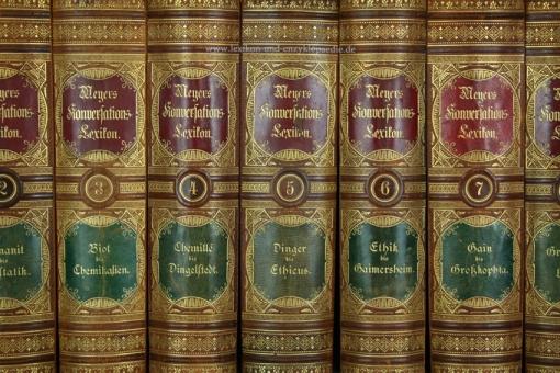 Meyers Konversations-Lexikon 5. Auflage, 17 Bände, 1894-1897, Schvenemann