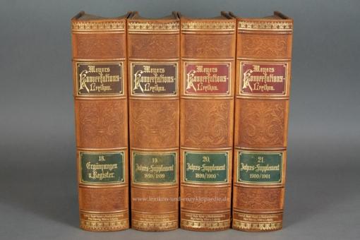 Meyers Konversations-Lexikon 5. Auflage, Band 18 (Ergänzungen Nachträge Register), 1898, Max Herzig 18