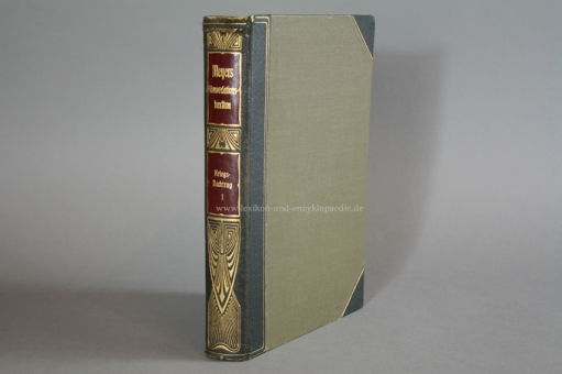 Meyers Großes Konversations-Lexikon 6. Auflage, Erster Kriegsnachtrag Teil I (1916) Prachtausgabe I