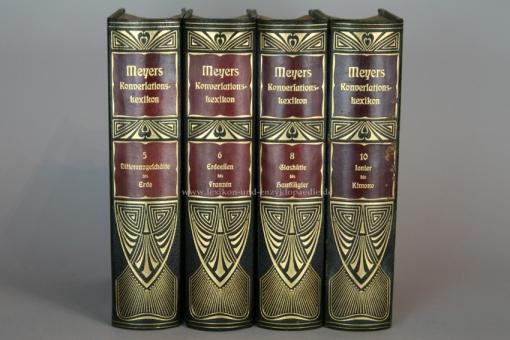 Meyers Großes Konversations-Lexikon 6. Auflage, Band 10 (Ionier - Kimono), 1907, Prachtausgabe 10