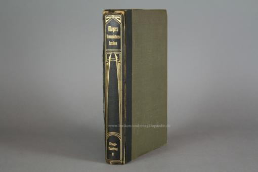 Meyers Großes Konversations-Lexikon 6. Auflage, Zweiter Kriegsnachtrag Teil II (1917) Jugendstil II