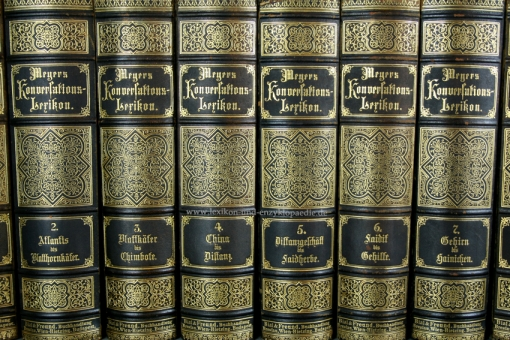 Meyers Konversations-Lexikon 4. Auflage, 17 Bände, 1890, Bial & Freund