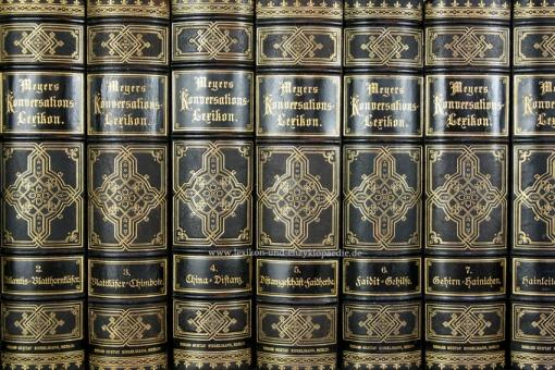 Meyers Konversations-Lexikon 4. Auflage, 19 Bände, 1885-1892, Engelmann