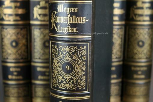 Meyers Konversations-Lexikon 4. Auflage, 16 Bände (A-Z), 1889-1890, Meidinger