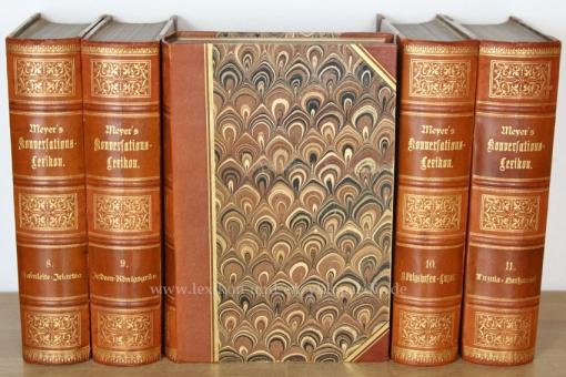 Meyers Konversations-Lexikon 4. Auflage, 17 Bände, 1888-1890, Puppendick
