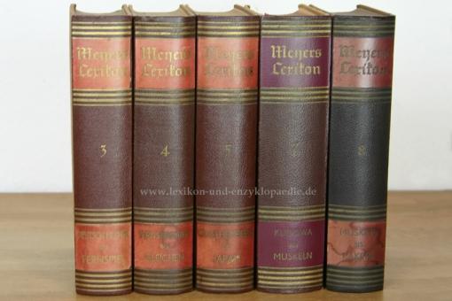 Meyers Lexikon 8. Auflage, Band 4 (Fernsprecher - Gleichen), 1938 4