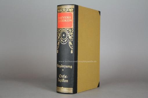 Meyers Lexikon 7. Auflage, Orts- und Verkehrslexikon, 1935, sehr selten