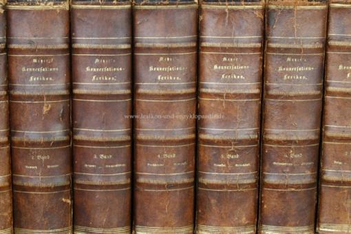 Meyers Neues Konversations-Lexikon 1. Auflage, 15 Bände (A-Z), 1857-1860 (I)