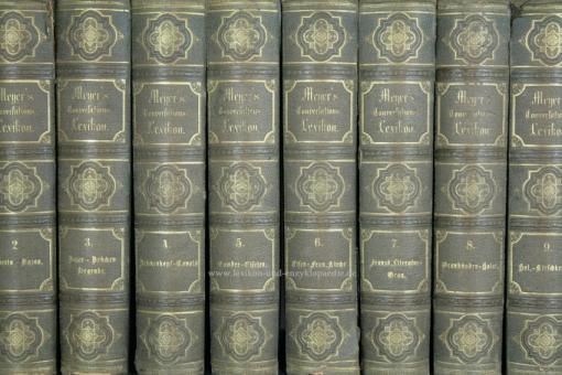 Meyers Konversations-Lexikon 2. Auflage, 17 Bände (incl. Illustrationen, Supplement), 1871-1873